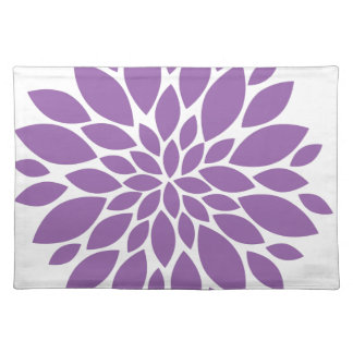 Purple In Bloom Placemat