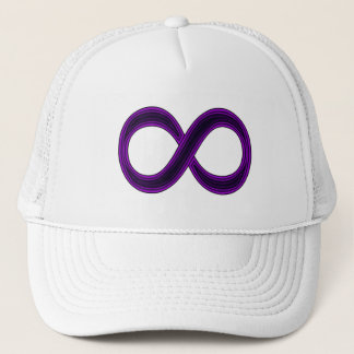 Purple Infinity Symbol Cap