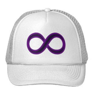 Purple Infinity Symbol Cap Trucker Hat