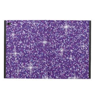 Purple iridescent glitter