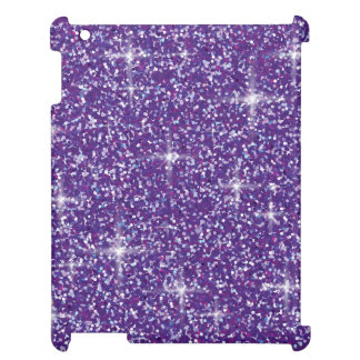Purple iridescent glitter cover for the iPad 2 3 4