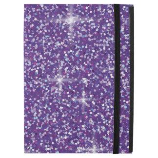"""Purple iridescent glitter iPad pro 12.9"""" case"""