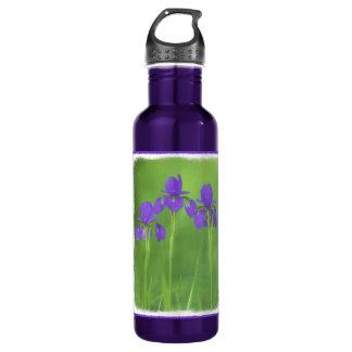 Purple Iris 710 Ml Water Bottle
