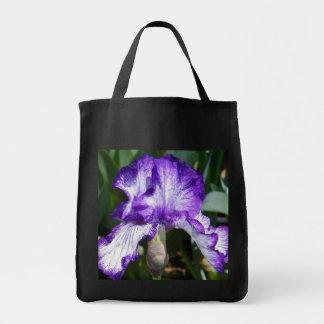 Purple Iris Bag