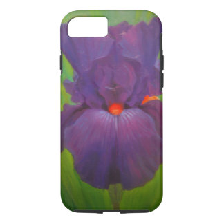 Purple Iris Smart Phone Cover