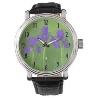 Purple Iris Watch
