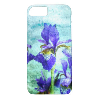 Purple Iris Watercolor iPhone 8/7 Case