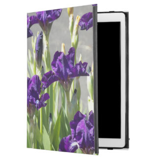 "Purple Irises Floral iPad Pro 12.9"" Case"