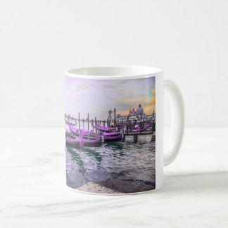 Purple Italian Gondolas Coffee Mug