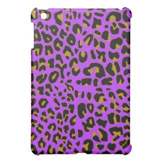 Purple Jaguar fur ipad case