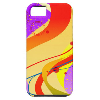Purple Jazz Background iPhone 5 Cases