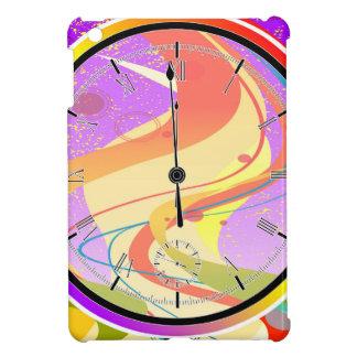Purple Jazz Midnight Clock iPad Mini Covers