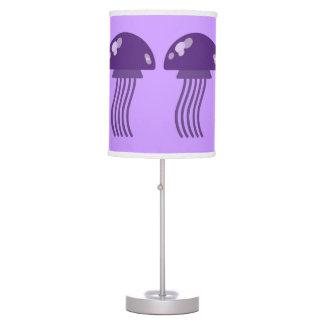 Purple Jellyfish Desk Lamps