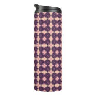 Purple Kaleidoscope Pattern Thermal Tumbler
