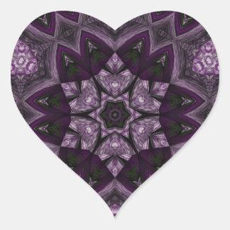 Purple Kaleidoscope sticker