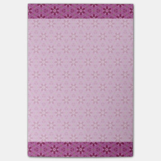 Purple Kaleidoscopes Sticky Note Pad