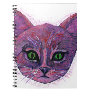 PUrple Kitten Notebooks