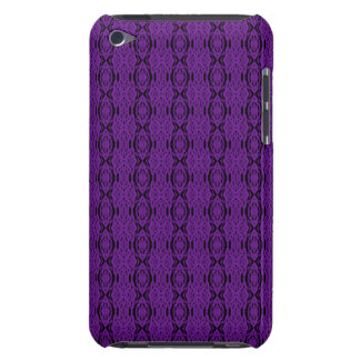 Purple Lace iPod Touch Barely There Case iPod Touch Covers