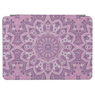 Purple Lace Pattern iPad Air Cover