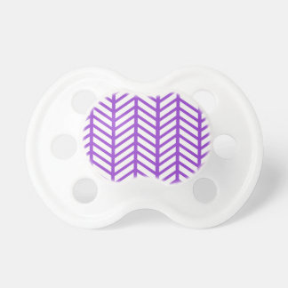 Purple Lattice Stripe Pacifier