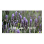 Purple Lavendar Double-Sided Standard Business Cards (Pack Of 100)