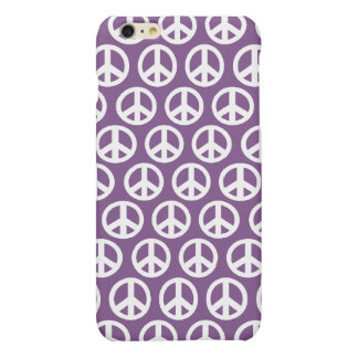 Purple lavendar peace symbol