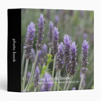 Purple Lavendar Photo Book Binder