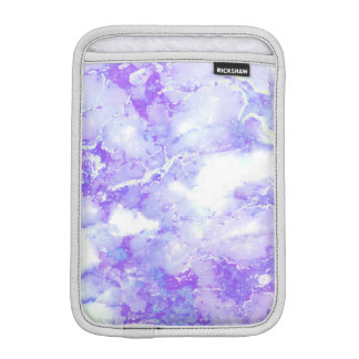 Purple Lavender Cloudy Marble Stone iPad Mini Sleeve