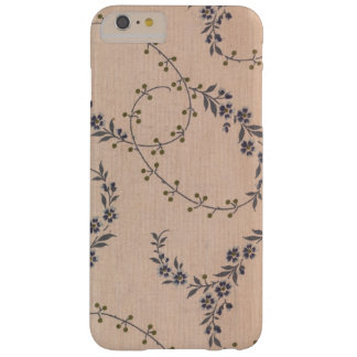 Purple Lavender Flower Vines Gold Berries Barely There iPhone 6 Plus Case