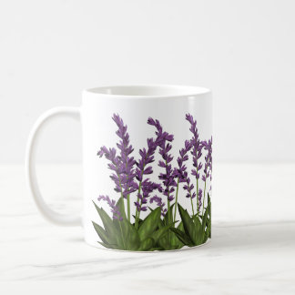 Purple Lavender Spring Flowers Coffee Mug