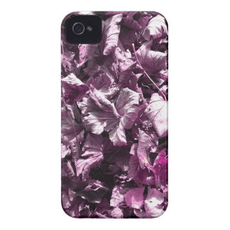Purple leaves. Case-Mate iPhone 4 case
