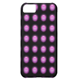 Purple Leds on Black iPhone 5 Cover