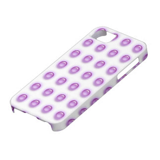 Purple Leds on White iPhone 5 Cover