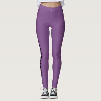 Purple Leggings for Women