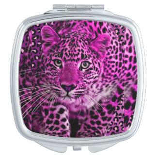 Purple Leopard Mirror Vanity Mirror