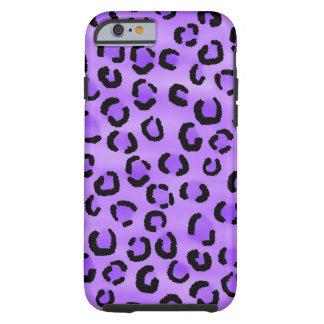 Purple Leopard Pattern. Tough iPhone 6 Case