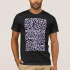 Purple leopard print T-Shirt