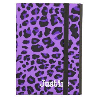 Purple Leopard Spots iPad Case