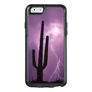 Purple lightning and cactus, AZ OtterBox iPhone 6/6s Case