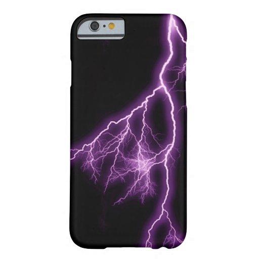 Purple Lightning iPhone 6 Case