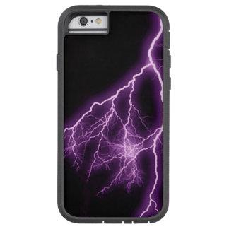 Purple Lightning Tough Xtreme iPhone 6 Case