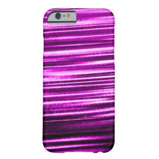 Purple Lightning Flash Fractal Barely There iPhone 6 Case
