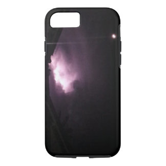 Purple Lightning iPhone 7 Tough Case