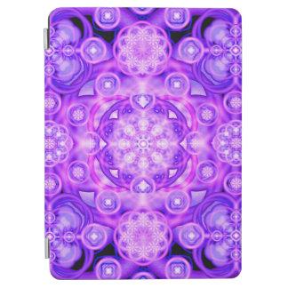 Purple Lights Mandala iPad Air Cover