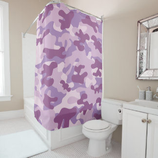 Purple Lilac Color Camouflage Pattern