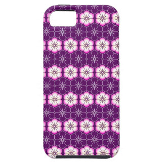 Purple lilac pink floral sakura pattern iPhone 5 covers