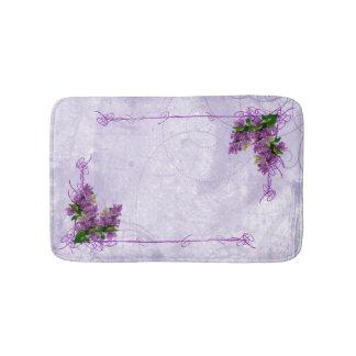 Purple Lilacs Bath Mat