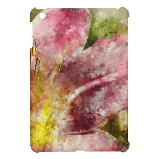 Purple Lily Close Up iPad Mini Cover