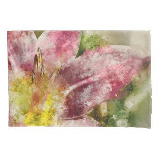 Purple Lily Pillowcase