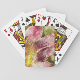 Purple Lily Playing Cards